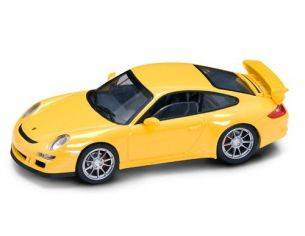 Hot Wheels LDC43205Y PORSCHE 997 GT 3 YELLOW 1:43 Modellino
