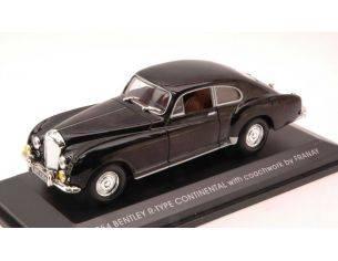 LUCKY DIE CAST LDC43212BK BENTLEY R-TYPE CONTINENTAL 1954 BLACK 1:43 Modellino