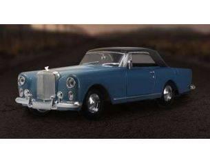 Hot Wheels LDC43215BL BENTLEY S2 CLOSED SOFT TOP METALLIC BLUE 1:43 Modellino