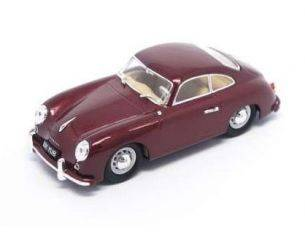 Hot Wheels LDC43218BG PORSCHE 356 1956 BURGUNDY 1:43 Modellino
