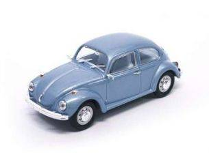 Hot Wheels LDC43219LB VW BEETLE 1972 LIGHT BLUE 1:43 Modellino
