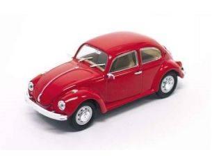 Hot Wheels LDC43219R VW BEETLE 1972 RED 1:43 Modellino