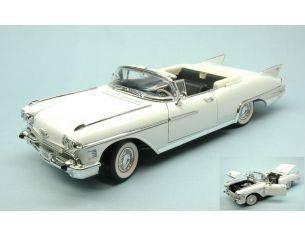 Hot Wheels LDC92158WH CADILLAC ELDORADO BIARRITZ 1958 WHITE 1:18 Modellino