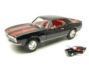 Hot Wheels LDC92188BK CHEVROLET CAMARO Z 28 1967 BLACK 1:18 Modellino