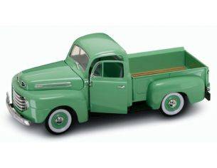 Hot Wheels LDC92218LG FORD F 1 PICK UP 1948 LIGHT GREEN 1:18 Modellino