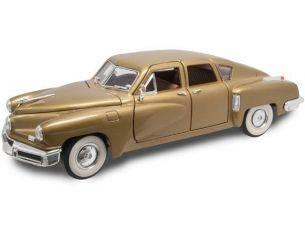 Hot Wheels LDC92268GD TUCKER TORPEDO 1948 GOLD 1:18 Modellino