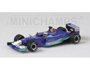 Minichamps PM400020007 SAUBER N.HEIDFELD 2002 1:43 Modellino