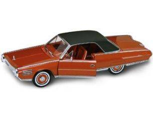 Hot Wheels LDC92448OR CHRYSLER TURBINE 1963 COPPER-ORANGE W/BLACK ROOF 1:18 Modellino