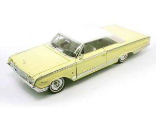 Hot Wheels LDC92568Y MERCURY MARAUDER 1964 LIGHT YELLOW 1:18 Modellino