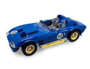 Hot Wheels LDC92697DB CHEVROLET CORVETTE OPEN N.10 1964 BLUE 1:18 Modellino