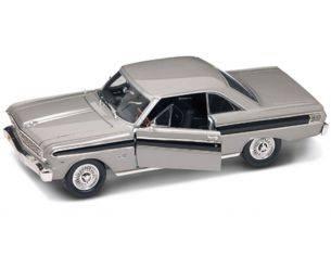 Hot Wheels LDC92708S FORD FALCON 1964 SILVER 1:18 Modellino