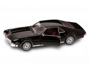 Hot Wheels LDC92718BK OLDSMOBILE TORONADO 1966 BLACK 1:18 Modellino