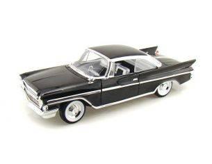 Hot Wheels LDC92738BK DESOTO ADVENTURER 1961 BLACK 1:18 Modellino