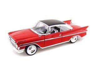 Hot Wheels LDC92738R DESOTO ADVENTURER 1961 RED 1:18 Modellino