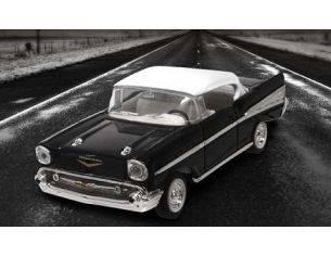 Hot Wheels LDC94201BK CHEVROLET BEL AIR 1957 BLACK 1:43 Modellino