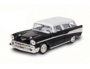 Hot Wheels LDC94203BK CHEVROLET NOMAD 1957 BLACK/WHITE 1:43 Modellino
