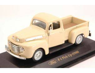 Hot Wheels LDC94212CR FORD PICK UP F 1 1948 CREAM 1:43 Modellino
