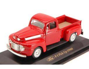 Hot Wheels LDC94212R FORD PICK UP F 1 1948 RED 1:43 Modellino