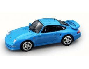 Hot Wheels LDC94219LB PORSCHE TURBO 993 1999 LIGHT BLUE 1:43 Modellino