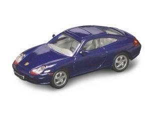 Hot Wheels LDC94221BL PORSCHE 911 (996) CARRERA 2 1998 METALLIC BLUE 1:43 Modellino
