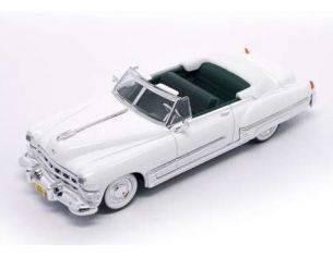 Hot Wheels LDC94223W CADILLAC COUPE' DEVILLE 1949 WHITE 1:43 Modellino