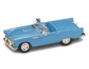 Hot Wheels LDC94228BL FORD THUNDERBIRD CONVERTIBLE 1955 BLUE 1:43 Modellino
