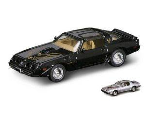Hot Wheels LDC94239MBK PONTIAC FIREBIRD TRANS AM 1979 BLACK 1:43 Modellino