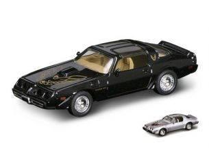 Hot Wheels LDC94239MBK PONTIAC FIREBIRD TRANS AM 1979 BLACK 1:43 Modellino