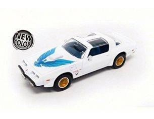 Hot Wheels LDC94239W PONTIAC FIREBIRD TRANS AM 1979 WHITE 1:43 Modellino