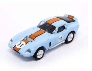 Hot Wheels LDC94242BO SHELBY COBRA DAYTONA COUPE' 1965 N.11 BLUE/ORANGE 1:43 Modellino