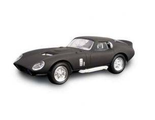 Hot Wheels LDC94242MBK SHELBY COBRA DAYTONA COUPE' 1965 MATT BLACK 1:43 Modellino