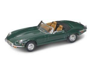 Hot Wheels LDC94244GR JAGUAR E TYPE CABRIO 1971 GREEN 1:43 Modellino