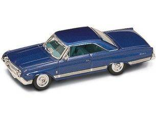Hot Wheels LDC94250BL MERCURY MARAUDER 1964 BLUE 1:43 Modellino