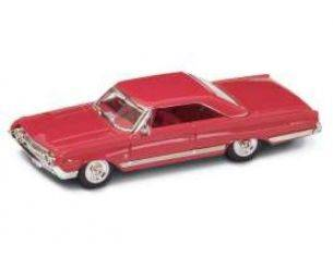 Hot Wheels LDC94250R MERCURY MARAUDER 1964 RED 1:43 Modellino