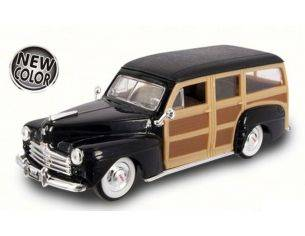 Hot Wheels LDC94251BK FORD WOODY 1948 BLACK 1:43 Modellino