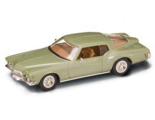 Hot Wheels LDC94252GR BUICK RIVIERA GS 1971 GREEN 1:43 Modellino