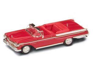 Hot Wheels LDC94253R MERCURY TURNPIKE CRUISER 1957 RED 1:43 Modellino