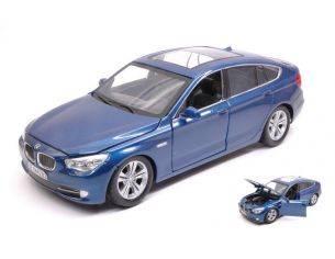 Motormax MTM73352BL BMW 550i GT SERIES 2010 BLUE 1:24 Modellino