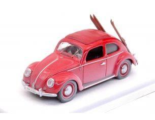Rio RI4561 VW MAGGIOLINO 1953 W/SKIS 1:43 Modellino