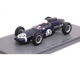 Spark Model S4804 COOPER T60 J.BONNIER 1963 N.12 5th BELGIAN GP 1:43 Modellino
