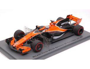 Spark Model S5044 MC LAREN HONDA MCL32 F.ALONSO 2017 N.14 PRE-SEASON TEST 1:43 Modellino