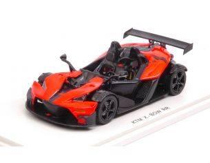 Spark Model S5662 KTM X-BOW (BALESTRA) RR 2007 ORANGE/BLACK 1:43 Modellino