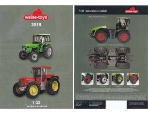 Welly WEISCAT2018 CATALOGO WEISE 2018 Modellino