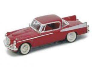 Yat Ming YM94254DR STUDEBAKER GOLDEN HAWK 1958 DARK RED 1:43 Modellino