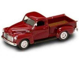 Yat Ming YM94255BUR GMC PICK UP 1950 BURGUNDY 1:43 Modellino
