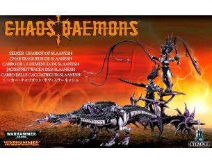 Games Workshop Warhammer 97-14 CARRO DELLE CACCIATRICI DI SLAAN E SLAANNESH Personaggi Citadel