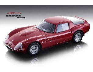 Tecnomodel TMD1865A ALFA ROMEO TZ2 1965 PRESS VERSION RED 1:18 Modellino