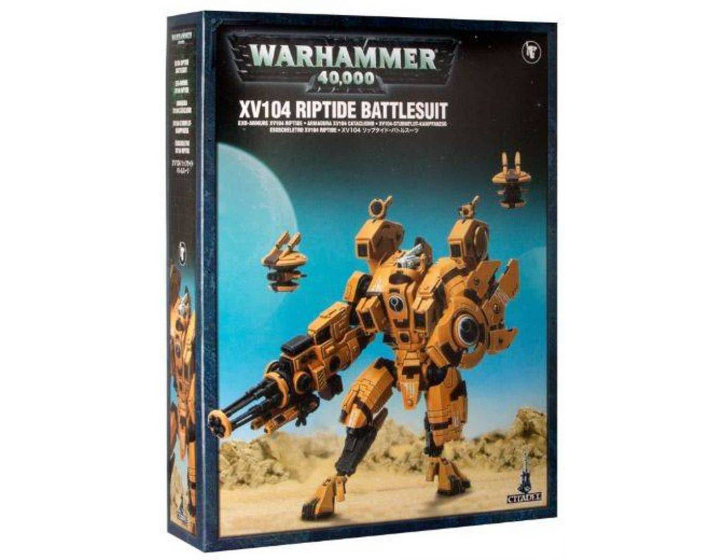 Games Workshop Warhammer 56-13 TAU EMPIRE XV104 RIPTIDE BUTTLESUIT Citadel