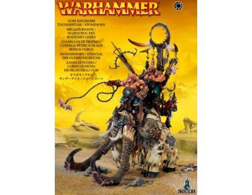 Warhammer 95-12 ZANNA DI TUONO CORNO DI PIETRA DEI REGNI DELLI OGRI Citadel