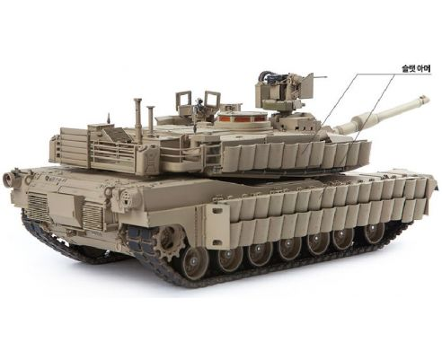 Accademy ACD13504 U.S. ARMY M1A2 TUSK II LIMITED EDITION  KIT 1:35 Modellino